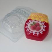Пластиковая форма для мыла Банка варенья