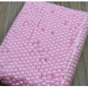 Бусины розовые 8мм, 150шт