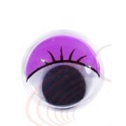 Глазки фиолетовые, 10мм