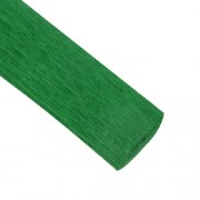 Гофрированная бумага, цвет молодая зелень 50*250см