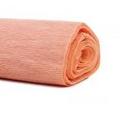 Гофрированная бумага, цвет персиковый  50*250см