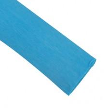 Гофрированная бумага, цвет голубой 50*250см