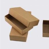 Крафт коробка с крышкой 11,5*9,5см