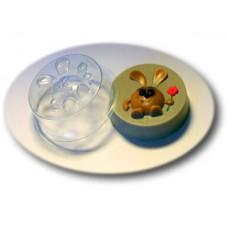 Пластиковая форма для мыла Веселый кролик