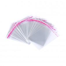 Пакет прозрачный с клеевым слоем 8*10см
