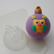 Пластиковая форма для мыла Шар Сова
