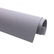 Фетр декоративный 1мм, жесткий, серый