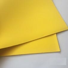 Фоамиран (EVA) желтый 1мм (тон1), 40*50см