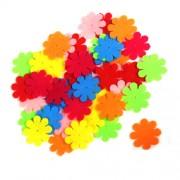 Цветы из фетра, набор 21шт