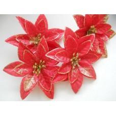 Пуансетия красная или Рождественский цветок 11см