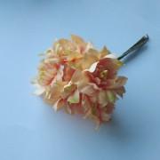 Букет цветов, 6шт оранжевый