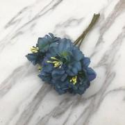 Букет цветов, 6шт синий