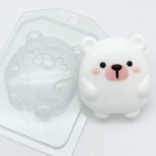 Пластиковая форма для мыла Мишка мультяшный