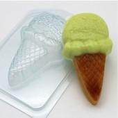 Пластиковая форма Мороженое Рожок с шариком