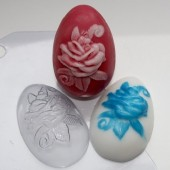 Пластиковая форма Яйцо роза