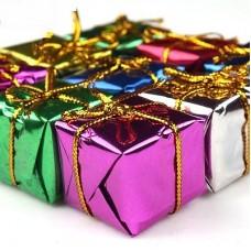 Коробочки новогодние 12шт