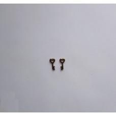 Металлическая подвеска ключик малый