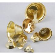 Колокольчики под золото 10мм, 5шт