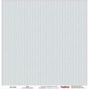 Бумага для скрапбукинга 30,5х30,5 см 180 гр/м двусторон Это лето Даль