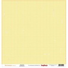 Бумага для скрапбукинга 30,5х30,5 см 180 гр/м двусторон Это лето Моментальный снимок