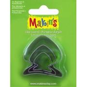 Набор каттеров Makin's  А36014 Рыба, 3 шт.