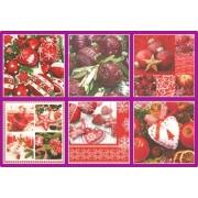 Салфетки бумажные Love2Art АССОРТИ 3х слойные SDD 33х33 см набор №18 Рождество
