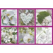 Салфетки бумажные Love2Art АССОРТИ 3х слойные SDD 33х33 см набор №32 Симфония свежести