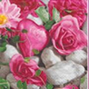 Салфетки бумажные Love2Art АССОРТИ 3х слойные SDD 33х33 см набор №44 Розы