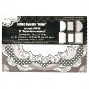 Набор бумаги мини  Mr.Painter  DPP-A6  3 х  18 л.  0.2x15.3 см 02 Черно-белые узоры