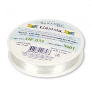 Gamma   Леска для бисеропл. DF-035     d 0.35 мм  100 м±5м  №01 белый