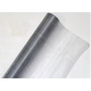 Органза флористическая 70см, цвет серебро