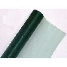 Органза флористическая 70см, цвет темно-зеленый