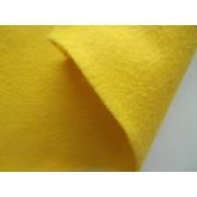 Декоративный фетр, толщина 1,4мм, мягкий, желтый