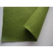 Декоративный фетр, толщина 1,4мм, мягкий, лесной зеленый