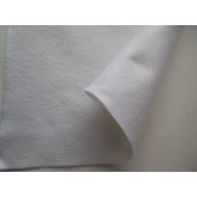 Декоративный фетр, толщина 1,4мм, мягкий, белый