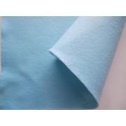 Декоративный фетр, толщина 1,4мм, мягкий, светло-голубой