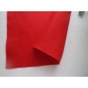 Декоративный фетр, толщина 1,4мм, мягкий, красный