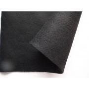 Декоративный фетр, толщина 1,4мм, мягкий, черный