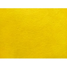 Фетр декоративный 1мм, жесткий, желтый