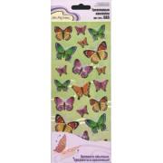 Наклейки Mr.Painter   Трехмерные   DAS  16 Бабочки (ассорти)
