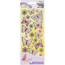 Наклейки Mr.Painter   Трехмерные   DAS  20 Бабочки №2