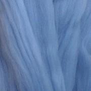 Пряжа LG_Wool (ЛГ Шерсть) для валяния   100% шерсть   100 г 0003  голубой