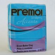 Sculpey Premo PE02 5040 матово-голубой