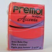 Sculpey Premo PE02 5044 матово-красный