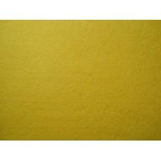 Декоративный фетр, толщина 2мм,жесткий, желтый