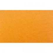 Декоративный фетр, толщина 2мм, жесткий, желто-оранжевый