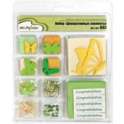 Декоративные элементы Mr.Painter 01 Бабочки