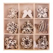 Декоративные элементы  Mr.Painter DWE-01 06 Бабочки