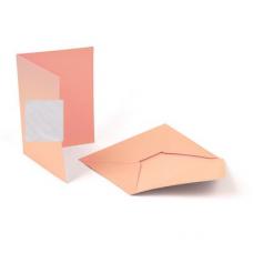 Заготовка для открыток (с конвертом) 5шт Mr.Painter MCB-01 105x145 мм, 01 Белый