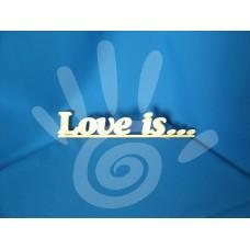 Слово Love is..  №07-0058